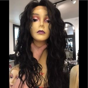 Accessories - Wig Long Swisslace Lacefront Curly 24-26 inch Wig